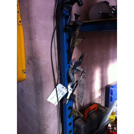 cable accelerateur + manette des Gaz Autoportée